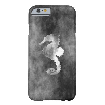 Beach Themed Seahorse Barely There iPhone 6 Case