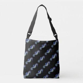 Seahorse Blue Crossbody Bag