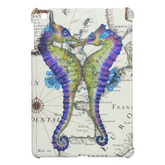 Seahorse Blue iPad Mini Case