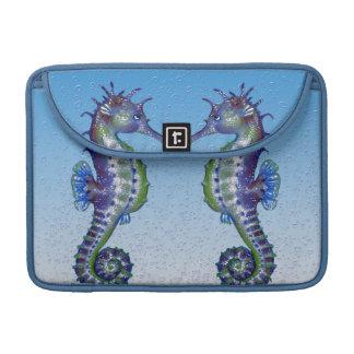Seahorse Blue Love MacBook Pro Sleeve