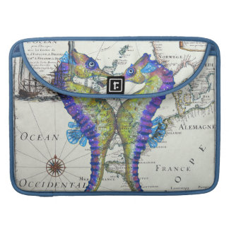 Seahorse Blue MacBook Pro Sleeve