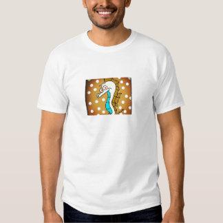 Seahorse Brown T Shirt