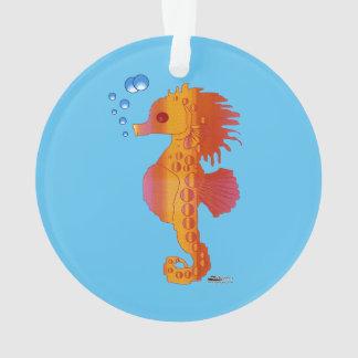 Seahorse Bubble Baby Ornament