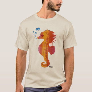 Seahorse Bubble Baby T-Shirt