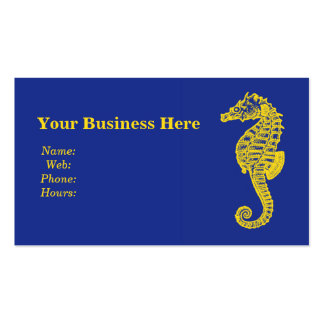 Seahorse Business Cards