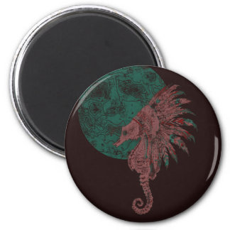 seahorse by the moon magnet