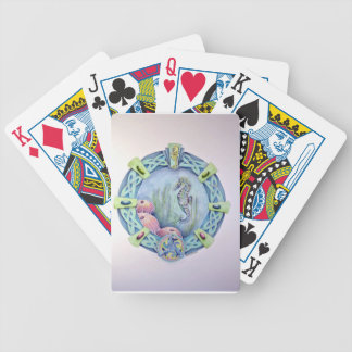 Seahorse-celtic zodiac-may 13 to june 9 bicycle playing cards