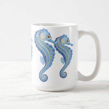 Coffee Themed Seahorse coffee mug