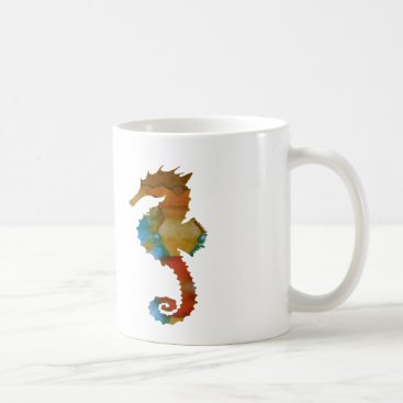 Beach Themed Seahorse Coffee Mug