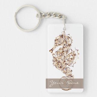 Seahorse Copper 1 - Key Chain