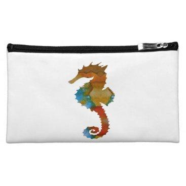 Beach Themed Seahorse Cosmetic Bag