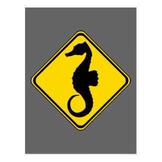 Seahorse Crossing ! Postcard