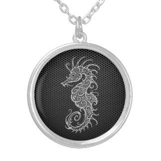 Seahorse de acero de la malla joyeria personalizada