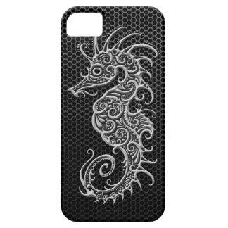 Seahorse de acero de la malla iPhone 5 Case-Mate cárcasas