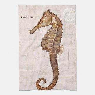 Seahorse de la criatura del caballo de mar del toallas de cocina
