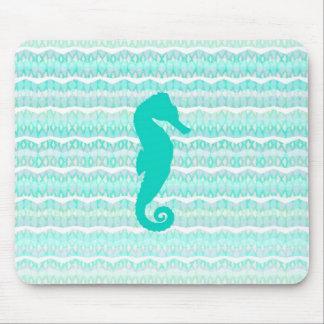 Seahorse de la menta - Mousepad