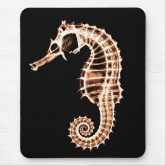 Seahorse de la radiografía - Mousepad
