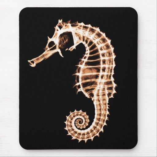 Seahorse de la radiografía - Mousepad Tapete De Ratones