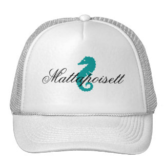 Seahorse de Mattapoisett Massachusetts del gorra