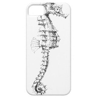 Seahorse de Pointilism iPhone 5 Case-Mate Cobertura
