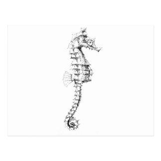 Seahorse de Pointilism Postales