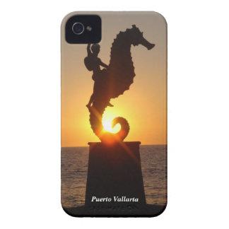 Seahorse de Puerto Vallarta iPhone 4 Protectores