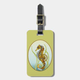 Seahorse de Steampunk Etiquetas Bolsa