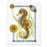 Seahorse de Steampunk Foto