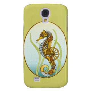 Seahorse de Steampunk Funda Para Galaxy S4