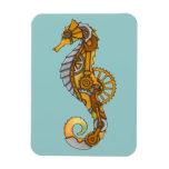 Seahorse de Steampunk Imanes Flexibles