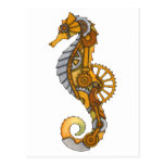 Seahorse de Steampunk Postal