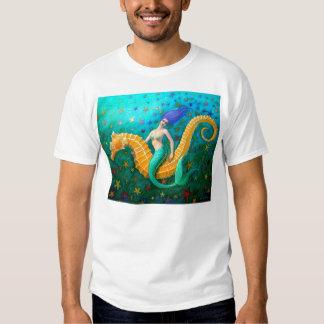 Seahorse del paseo de la sirena playera