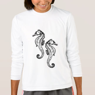 Seahorse Design T-Shirt