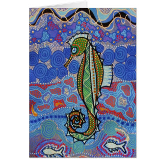 Seahorse Dreaming with Dreaming Story Card