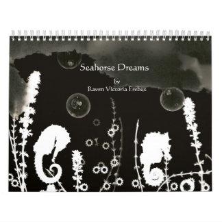 Seahorse Dreams Photogram Calendar