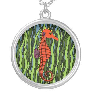 Seahorse en collar del Seagrass