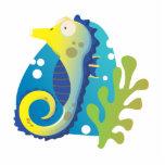 Seahorse Escultura Fotografica