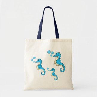 Seahorse Family Budget Tote Bag