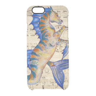 Seahorse Fantasy Clear iPhone 6/6S Case