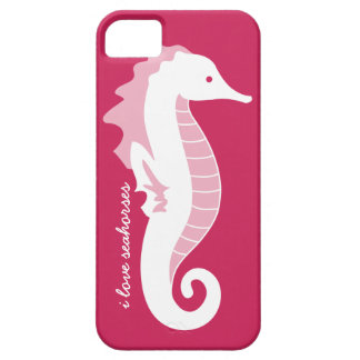 Seahorse Frolic iPhone 5 Barely There - Pink iPhone 5 Covers