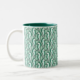 Seahorse Frolic Mug - Green