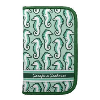Seahorse Frolic Planner - Green