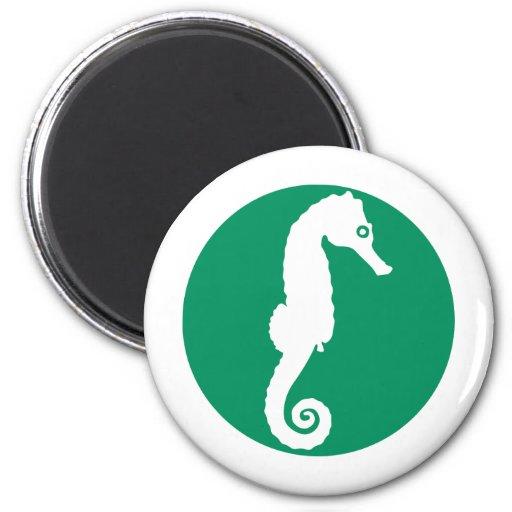 Seahorse - hippocampus imán para frigorifico