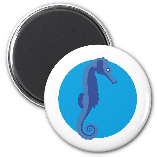Seahorse - hippocampus imán de nevera