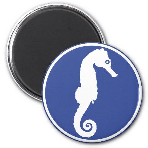 Seahorse - hippocampus imanes para frigoríficos