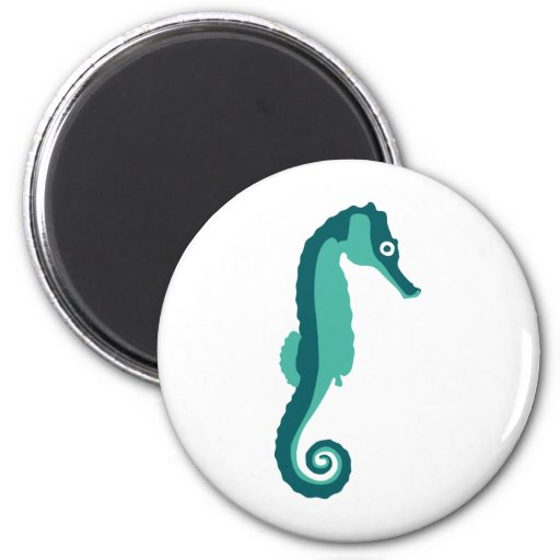 Seahorse - hippocampus iman para frigorífico