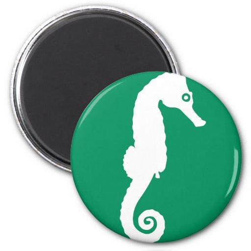 Seahorse - hippocampus iman de frigorífico