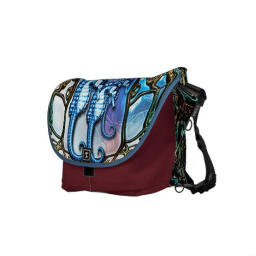 Seahorse Home - Rickshaw Messenger Bag
