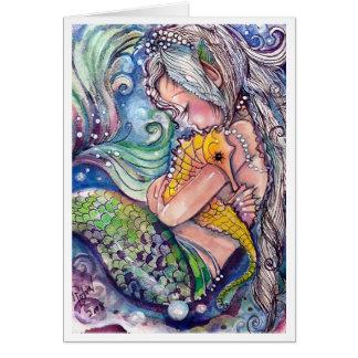 SeaHorse Hugs Greeting Card