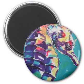 Seahorse Imán Redondo 5 Cm